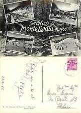 Cartolina di Subiaco, Monte Livata - Roma, 1965