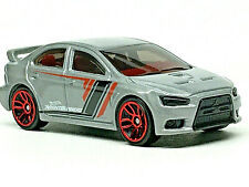 Hot Wheels 2008 MITSUBISHI LANCER EVOLUTION (Silver/Gray) Mint/Loose