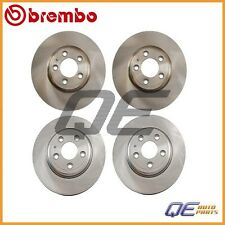 Lincoln LS 2000 - 2004 2 Rear & 2 Front Disc Brake Rotors KIT Brembo