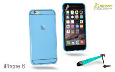 "Matte Gel Case For iPhone 6 6 (4.7"")  Plus (5.5"") + Stylus TPU Soft Jelly Cover"