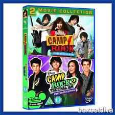CAMP ROCK - 1 & 2 - MOVIE COLLECTION  **BRAND NEW DVD BOXSET **