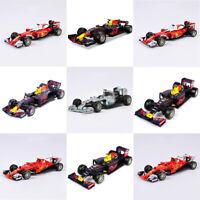 1:43 Scale F1 Diecast Red Bull/Farrari Race Car Model BBurago Collection Gift