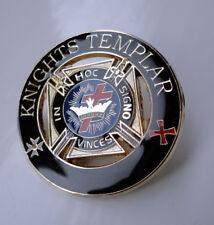 ZP172 Enamel Badge Knights Templar Masonic Freemason Lionheart FREE UK POST