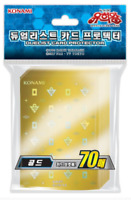 "Yugioh Cards Sleeves [70PCS] ""20th Anniversary - Gold"" / KONAMI / Sealed"