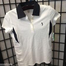 Izod Golf Classix Stretch  Women's Classic Top Short Sleeve T Shirt Size Sp