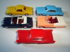 AMERICAN LIMOUSINES 1950-1960's CLASSIC MODEL CARS SET 1:87 H0 - KINDER SURPRISE