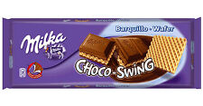 Tablette de 300 gr de chocolat Milka chocoswing gaufrette, livré neuf emballé