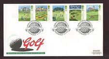 1994 Golf Fdc... Muirfield Matasellos Especial
