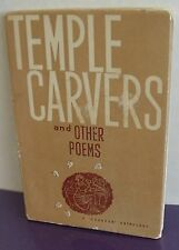 Temple Carvers and Other Poems, 1959 Softcover, 96 Pages, Printed in English