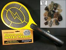 HIGH Voltage Power Electric Fly Bug Mosquito Insect Swatter Zapper Raquet Killer