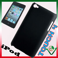 Custodia hard back cover rigida NERA per iPod Touch 4 4g