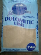 25kg DOLOMITE LIME ( MAGNESIUM LIMESTONE ) IMPROVES PH LEVELS IN SOILS
