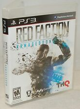 PS3 Red Faction Armageddon Video Game Full 1080p HD Multiplayer - Alien Action