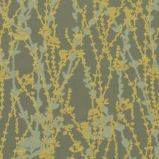 Maharam Trellis Frond Modern Funky Abstract Vines trees Upholstery Fabric