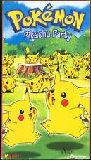 Pokémon: Pikachu Party (VHS, Viz Video, 1999)