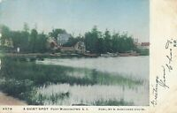 PORT WASHINGTON NY - A Quiet Spot - Long Island - udb - 1907