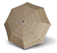 Knirps Parapluie T.200 Medium Duomatic Check Beige