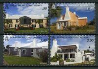 Bermuda Architecture Stamps 2019 MNH Historic Homes Houses Tourism 4v Set