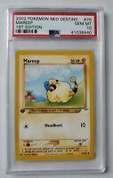 Pokemon 1st Edition Neo Destiny Mareep Non-Holo 75/105 PSA 10 GEM MINT