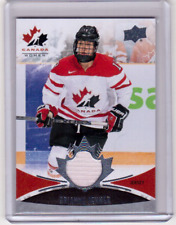 BRIANNE JENNER 16/17 Upper Deck Team Canada Women Women's Jersey 153 Hockey Card