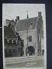 Unused Black & White Post Card Gevangenpoort s Gravenhage, Netherlands