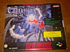 Terranigma Big Box German Allemand Deutsches [Complet] Super Nintendo SNES