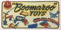 Boomaroo Sticker Decal Wyn Toy Sticker Decals Collectable Vintage Toy Sticker