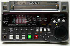 SONY PDW-1500 XDCAM MPEG IMX DVCAM PROFESSIONAL DISC RECORDER / PLAYER