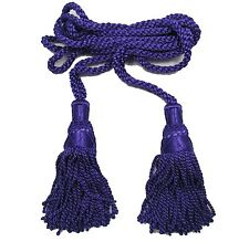 Cord Bagpipe Drone Cords Highland Silk Purple Military & Ceremonial R1631