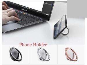Phone Stand, Collapsible Finger Ring Holder 360 Rotating Finger Ring Bracket