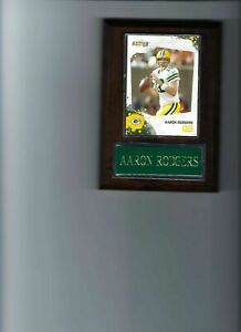 AARON RODGERS PLAQUE GREEN BAY PACKERS FOOTBALL NFL   C
