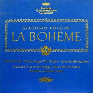 Puccini – La Bohème Opera Completa - Box Double LP & Booklet - 1962 Mint-