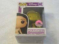 Funko Pop! Disney #197 Pocahontas Gold Exclusive Special Park Edition Vinyl