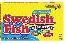 Swedish Fish Assorted 99g Box US Import LIMITED STOCK