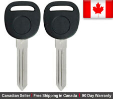 2x New Transponder Ignition Key For Chevy GMC Buick Saturn Pontiac Suzuki H2