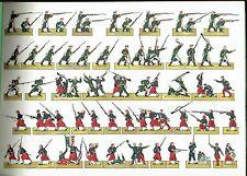 Le Bivouac X Prise de Malakoff 1855  Construction papier Jeux Soldats Planches