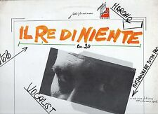 FRANCESCO ARMINIO disco LP 33 giri. IL RE DI NIENTE 1977 MADE in ITALY prog