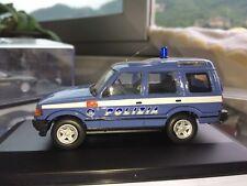 LAND ROVER  DISCOVERY II SERIE  POLIZIA POLICE REPARTO CELERE SCALA 1/43