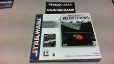 STAR WARS REBELLION  VERSION CD-ROM ITA