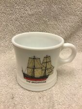 The Brigantine Vintage Shaving Mug Old Ship