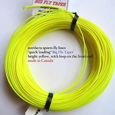 WF-10-F FLY LINE big fly taper w/ LOOPS Northern Sports Made in Canada pike bass