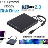 3.5 Inch USB 2.0 Portable External Floppy Disk Drive 1.44Mb Reader FDD PC Laptop