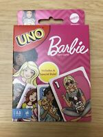 UNO Barbie Card Game BRAND NEW Mattel NIB