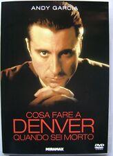 Dvd Cosa fare a Denver quando sei morto di Andy Garcia 1995 Usato
