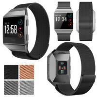 Fully Magnetic Mesh Loop Milanese Stainless Steel Metal Band for Fitbit Ionic