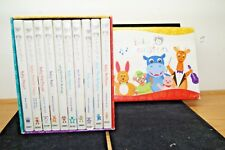 BABY EINSTEIN DVD BOXED SET OF 10 LOT MOZART BACH BEETHOVEN MACDONALD
