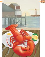 Lobster Catch Brilliance House Size Flag Pr 52692