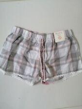 Primark Donna Boxer Stile Pigiama Abbigliamento Pantaloncini Taglia Small 6/8 Nuovo con etichette
