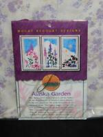 Mount Redoubt Designs Alaska Garden Wall Quilt Kit Fireweed Lupine Wild Flowers