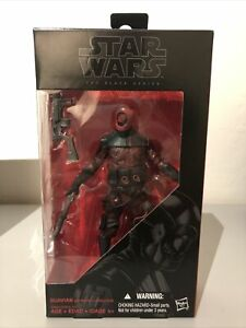 Star Wars The Black Series Guavian Enforcer #08 New Unopened 6""